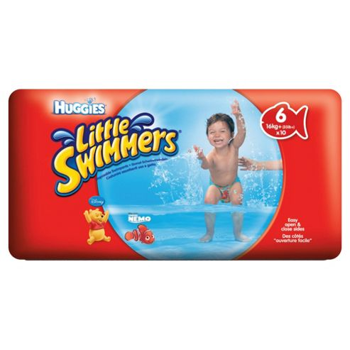 Huggies Unisex Little Swimmers Size 6