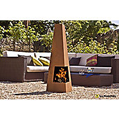 LA HACIENDA OXIDISED HEAVY GAUGE STEEL CHIMINEA