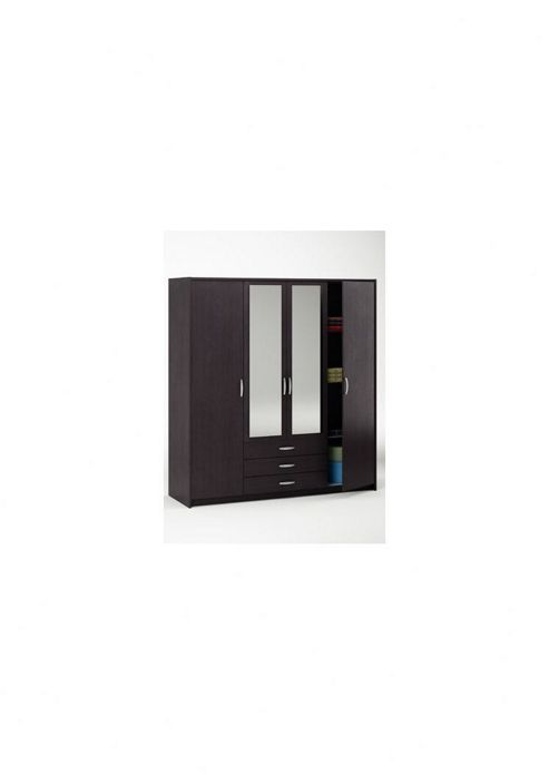 Altruna Omega 4 Doors 3 Drawers Wardrobe