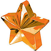Balloon Weights Orange Star 168g (each)