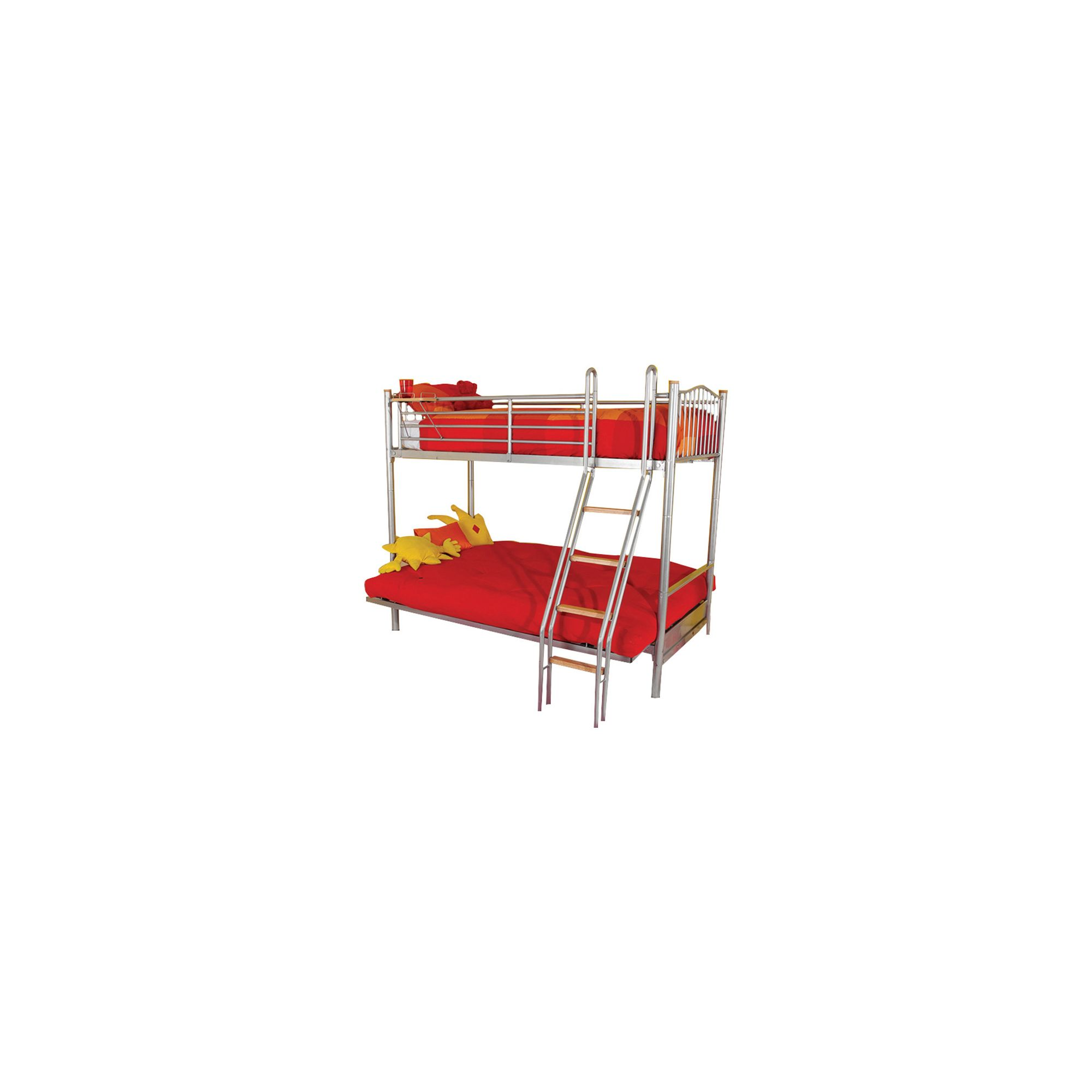 Hyder Alaska Futon Bunk Bed - Aqua at Tesco Direct
