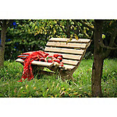 Lilly 3 Seater Pine Bench