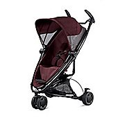 Quinny Zapp Xtra 2 Black Frame Stroller Red Denim