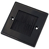 Single Outlet Brushplate - Black