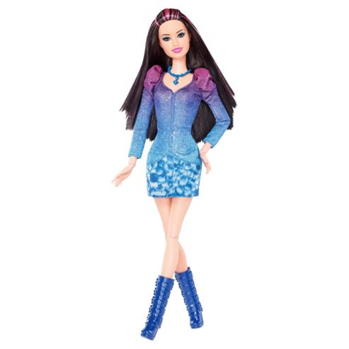 Barbie Fashionista Raquelle Blue Doll