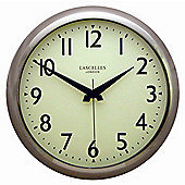 Roger Lascelles Clocks Deco Wall Clock With Sweep Seconds Hand