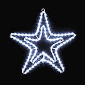 18in Tape Light Double Star White