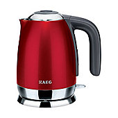 AEG EWA7101U 3kw 1.5L Cordless Jug Kettle in Red