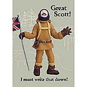 Holy Mackerel Notebook- Great Scott!