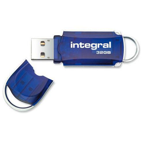 Integral Courier Flash Drive with LED Light USB 2.0 32GB