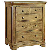 Kelburn Furniture Loire 5 Drawer Chest