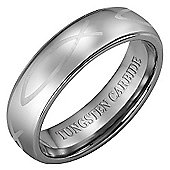 Willis Judd New 7mm Tungsten Christian Fish Ring
