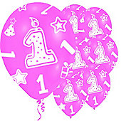 11' Age 1 Pink (6pk)