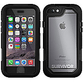 Griffin Technology Survivor Summit Case (Clear/Black) for iPhone 6/6S