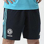 2014-15 Chelsea Adidas Woven Shorts (Dark Marine) - Navy