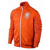 2014-15 Holland Nike Core Trainer Jacket (Orange) - Orange