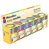 Marabu-Easy Marble 6X15ml Set