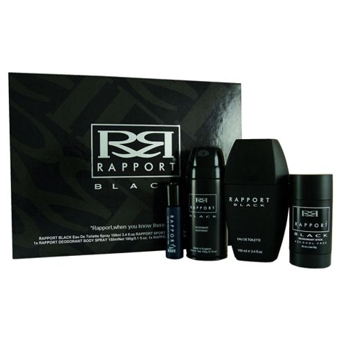 Rapport Black 4pc Gift Set