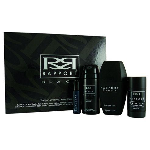Rapport Black 4pc Gift Set