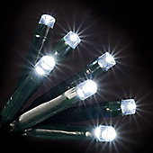 120 White LED Chaser Lights with Memory Chip