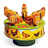 Pecking Chicks - Retro Tin Clockwork Collectable