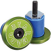 Madd Gear MGP Bar Ends - Green