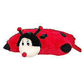 Cozy Time Pillow Pocket Pal Ladybird
