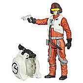 Star Wars The Force Awakens 9cm Poe Dameron Combine Figure
