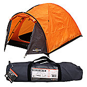 Milestone 2 Man Super Dome Tent Orange