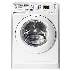 Indesit Innex Washing Machine, XWA81252XW, 8KG Load, White