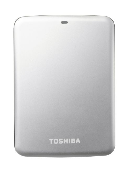 Toshiba Stor.E Canvio 2TB 2.5 inch External Hard Drive USB 3.0 (Silver)