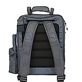 Diaper Dude Convertible Messenger Bag Grey/Black