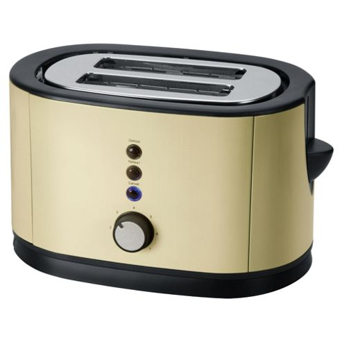 Tesco 2TSS12C 2 Slice Toaster - Cream