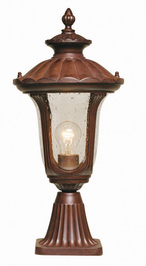 Elstead Lighting Chicago Pedestal Lantern - Small