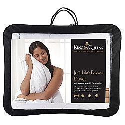 Kings & Queens Single Duvet 4.5 Tog - Just Like Down