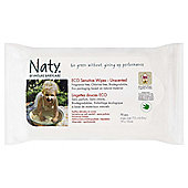 Naty By Nature Babycare Baby Wipes - Eco Sensitive Wipes - Unscented - 70 Pack