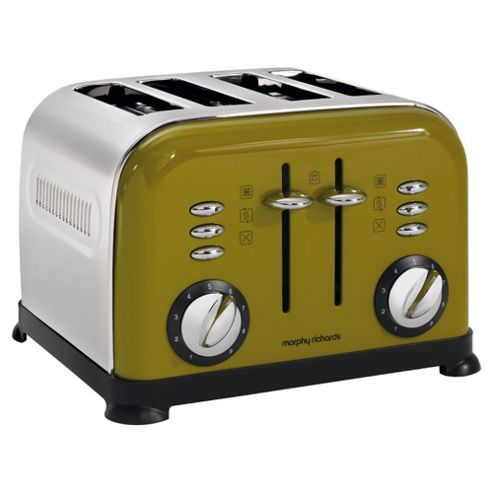 Morphy Richards 44799 Accents 4 Slice Toaster - Oasis