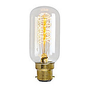 Radio Valve Squirrel Cage Bulb with Helix Filament BC Cap 30w