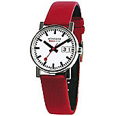 Mondaine Ladies Evolution Big Date Strap Watch A669.30305.11SBC