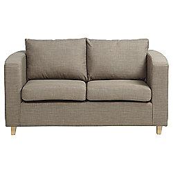 Maison Fabric Small 2 seater Sofa , Nutmeg