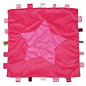 Label Label XL Comfort Blankie (Pink/Fuchsia)