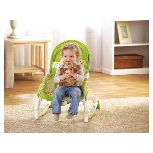 Fisher-Price Rainforest New Born to Toddler Rocker