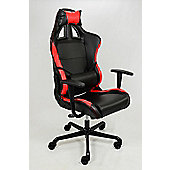 GTX Racer Office Chair Black + Red