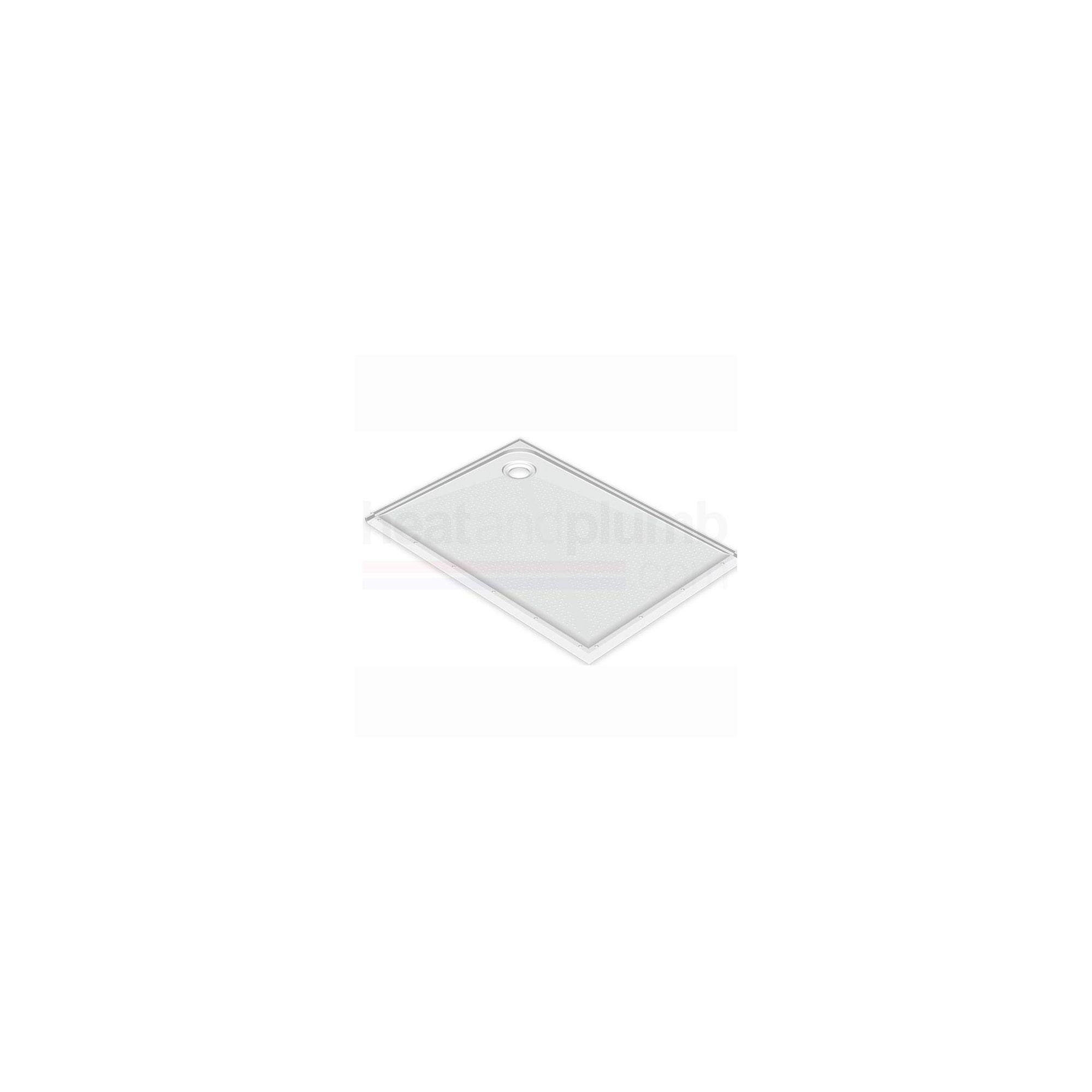 AKW Dalby Rectangular Shower Tray 1200mm x 700mm at Tesco Direct