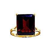 QP Jewellers 7.0ct Garnet Auroral Ring in 14K Gold