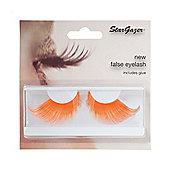 Stargazer False Feather Eyelashes No.69 Neon Orange Feather