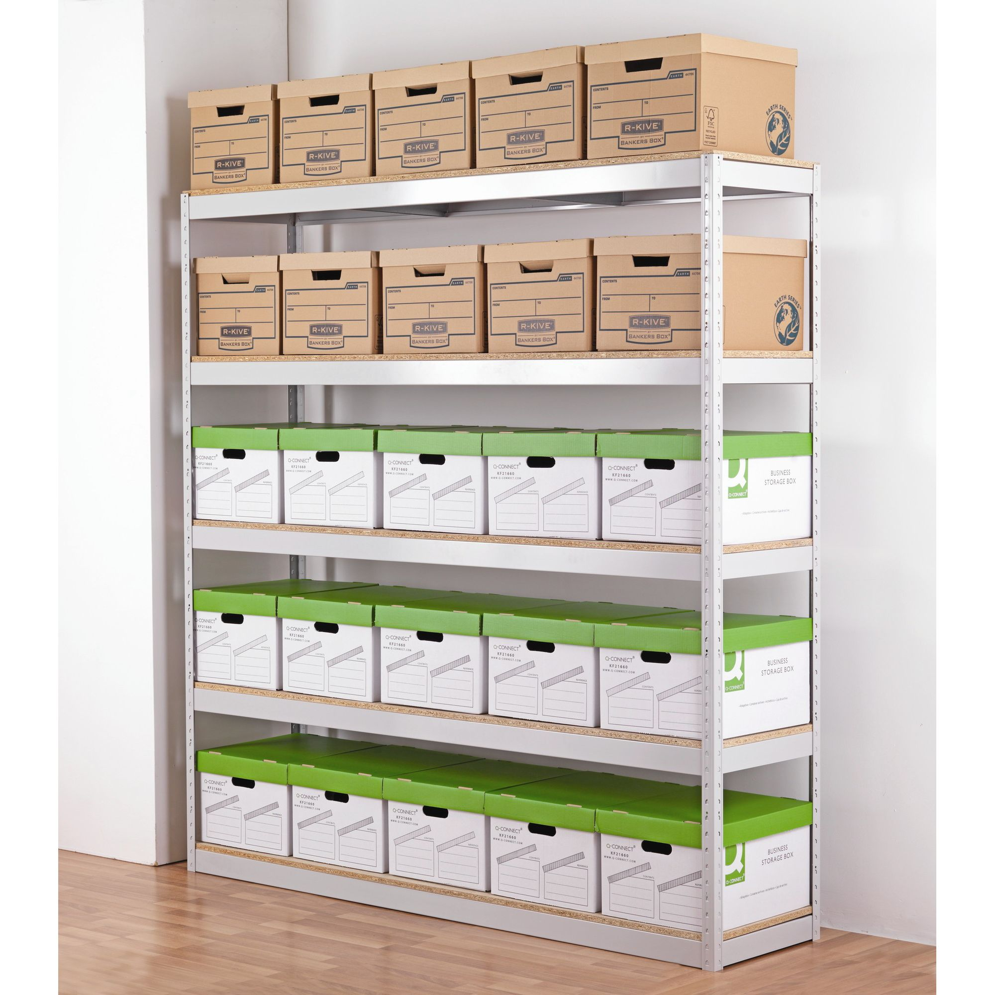 Office Sense Zamba Stock and Archive Shelving Unit at Tesco Direct