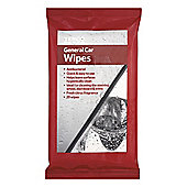 Tesco General Car Wipes 20Pk