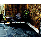 The Real Paving Company Nouveau Paving Random Patio Kit 14Sqm Meteor Black