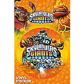 Stickers - Skylanders Giants - Logo - GB Eye